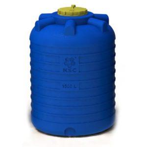 Емкость цилиндрическая вертикальная (1500 литров)