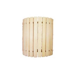 Абажур прямой деревянный