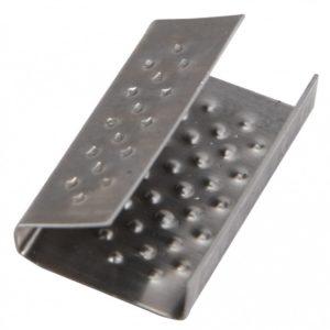 Скоба металл для ленты 15-16 мм для (РР16) 1000шт/уп