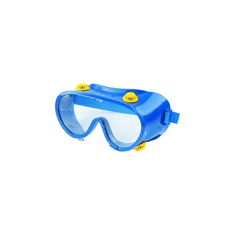 Очки защитные закрытого типа с прямой вентиляцией поликарбонат / Сибртех