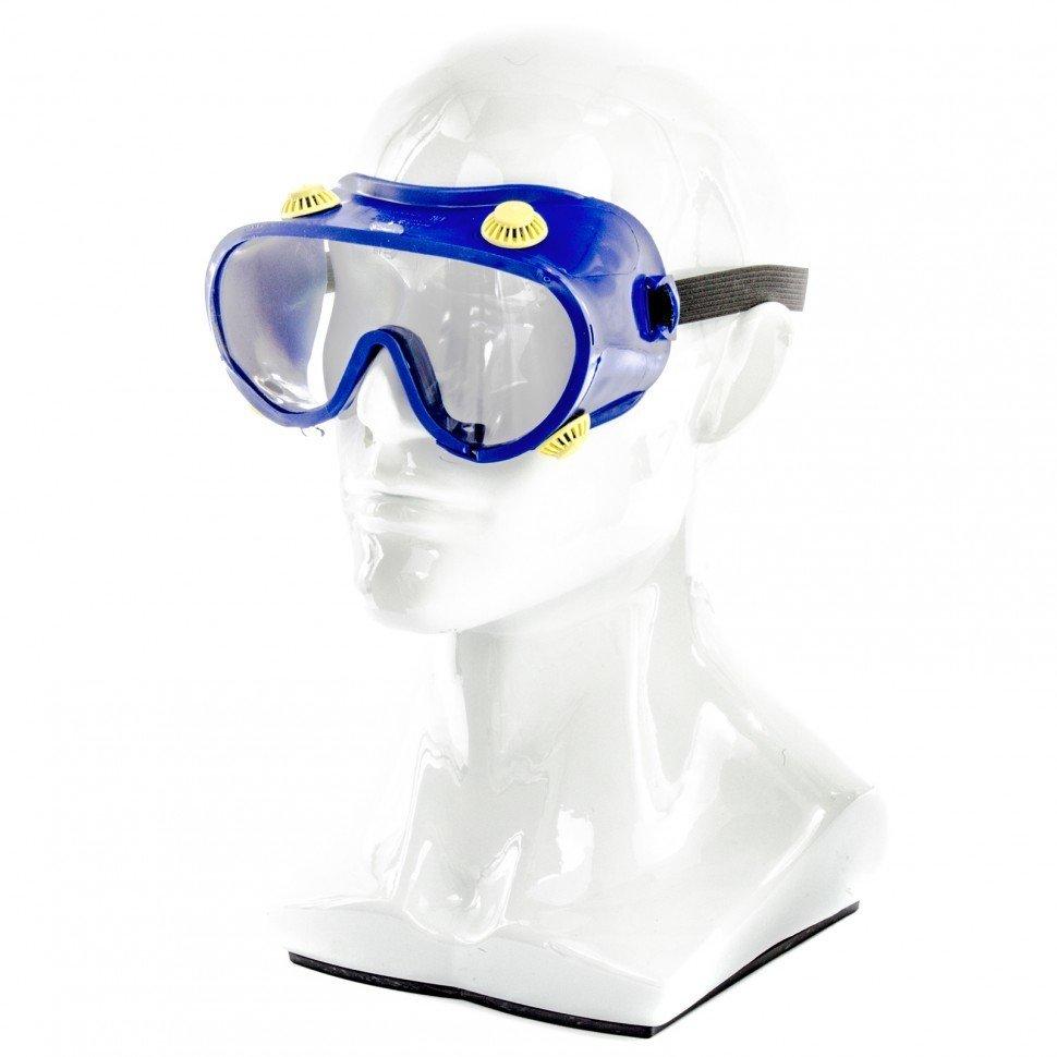 Очки защитные закрытого типа с непрямой вентиляцией поликарбонат / Сибртех