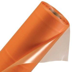 Пленка п/э ГОСТ стабилизированная оранжевая 1500х100 мкн, м