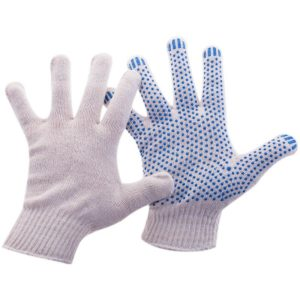 Перчатки с ПВХ 4-х нитка